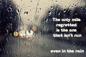 Rain, rain, go away......