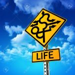 14199329-sign-concept-symbolizing-life-is-full-of-twists-and-turns-with-a-sky-background-stock-photo